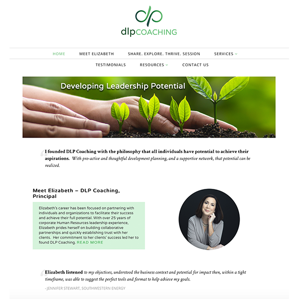DLP Coaching Website